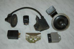 Yamaha-RD-250-Gleichrichter-Regler-Zuendspule-Blinkrelais-Anlasserrelais-Relais