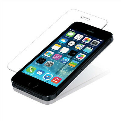 3X Screen Protector Scratch Resist Tempered Glass For iphone 5 5S 5C USA seller