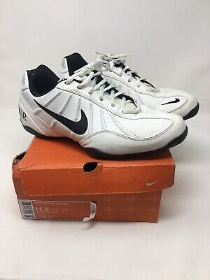 Escarchado hacer clic Mil millones  Nike Air Series 6c Leather Shoes 313982 Size 11.5 Men's Sneakers White  Black | eBay