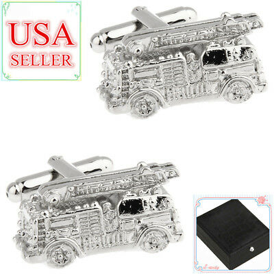 Silver Truck Cufflinks