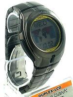 CASIO EDB110F-8 Men Black S/ Steel Bracelet Digital Men E-Databank Round Case