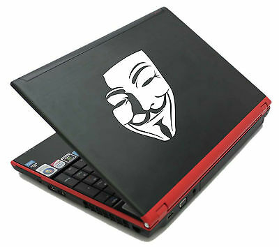 ANONYMOUS MASK Guy Guido Fawkes V for Vendetta decal sticker vinyl wall art V4