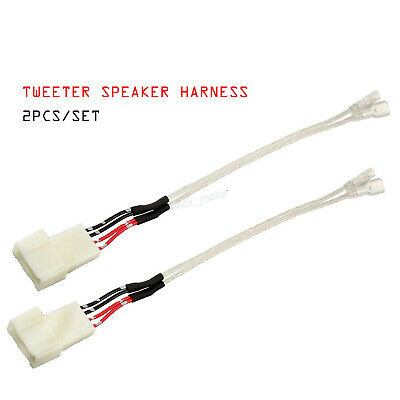 speaker wiring harness adapter 2x tweeter speaker wiring harness adapter for subaru forester wrx  tweeter speaker wiring harness adapter