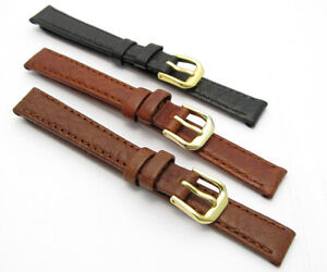 Comfortable  Watch Strap by CONDOR 12mm Black Brown Tan 051R