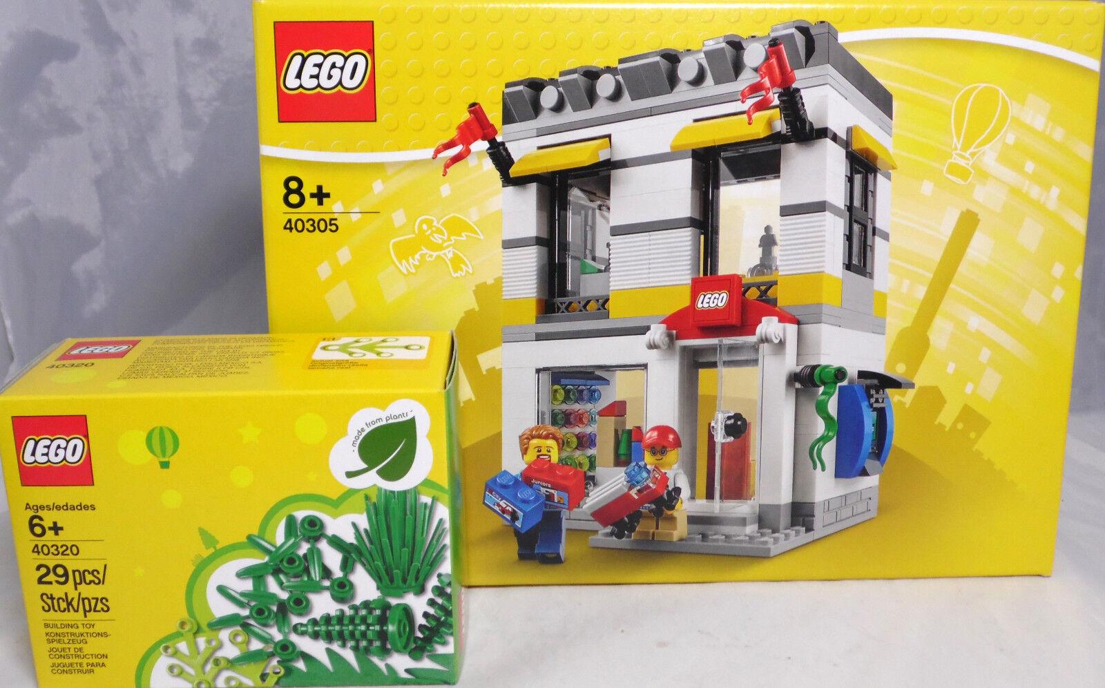 LEGO 40305 Brand Retail Store caricamento aziendale + 40320 VERDE PIANTE NUOVO RAR