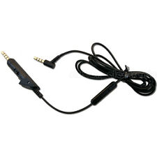 New Replacement Inline Remote Microphone Cable For Bose Quiet Comfort 15 QC 15