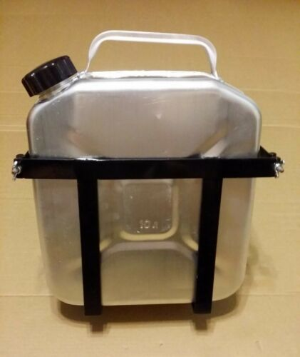 NEW 10L Aluminum canister /& Holder for sidecar motorcycle URAL,DNEPR.