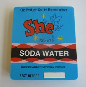 Fairy Soda LABELS Wholesale lot of 100 Old Vintage SHE SODA WATER