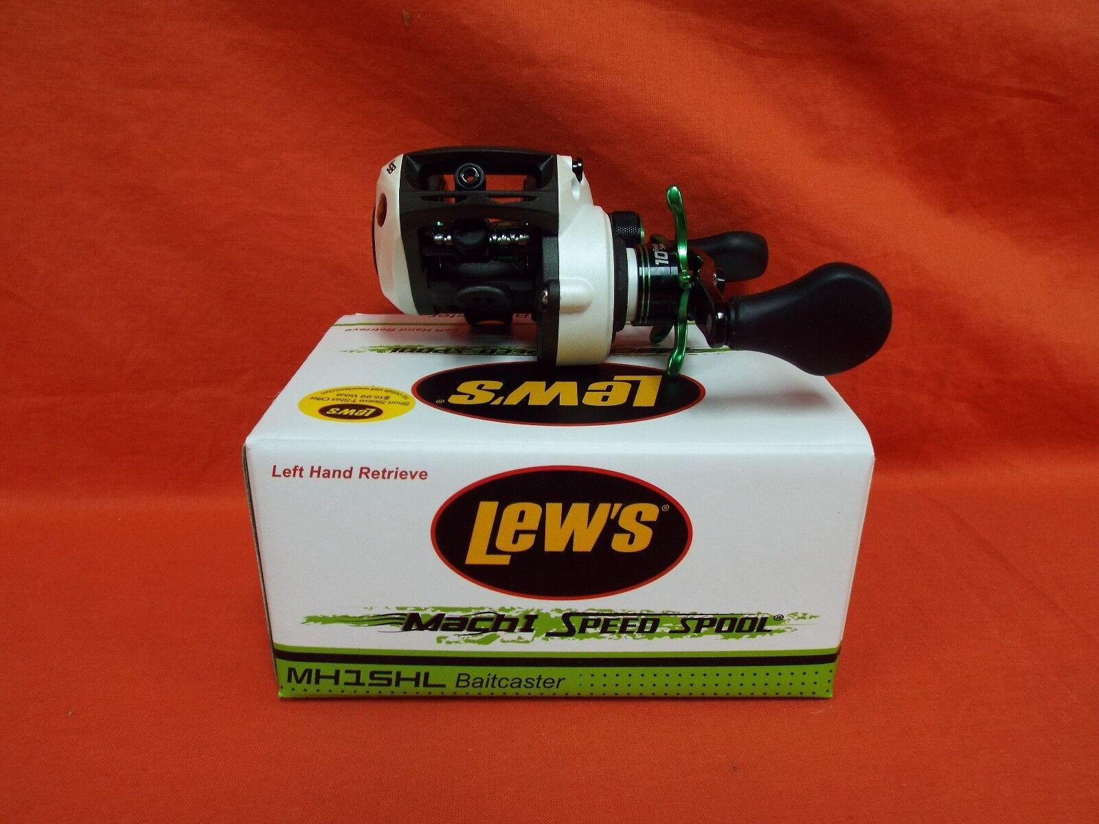 LEW'S Mach I Speed Spool Baitcast Reel Gear Ratio 7.1 1 MH1SHL (LH)