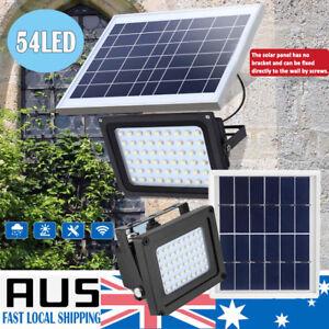 54-LED-Solar-Powered-Light-Wall-Security-Flood-Outdoor-Garden-Path-Street-Lamp