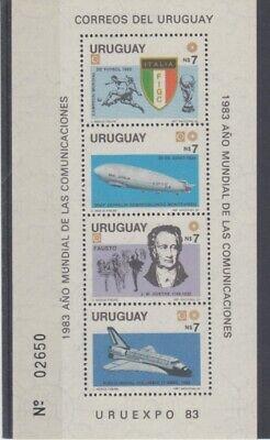 2019 Mode Flugzeuge Uruguay Block 54 Zeppelin Etc. ** (mnh) Waren Des TäGlichen Bedarfs
