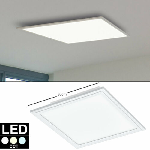 LED Auf Einbau Decken Panel weiß Arbeits Zimmer Beleuchtung ALU Raster Lampe