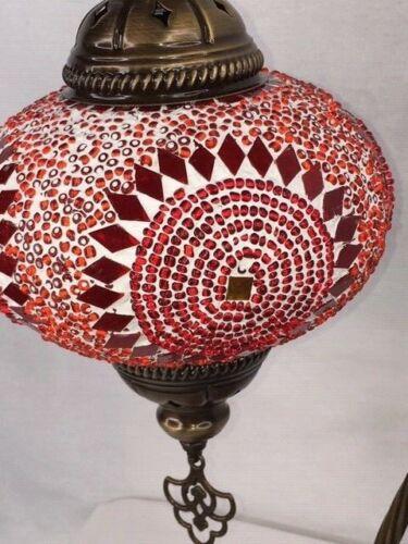 NEW Stunning Handmade Swan neck Turkish Moroccan Mosaic Lamp