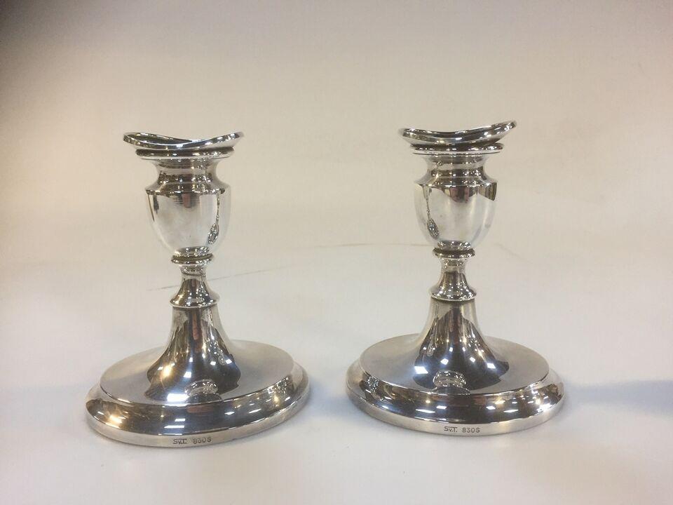 Sølvtøj, Et par klassiske Svend Toxværd lysestager