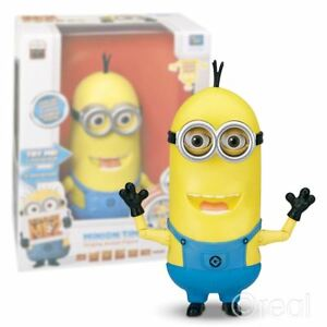 New-12-034-Despicable-Me-2-Singing-Tim-Minion-Action-Figure-Talking-Official