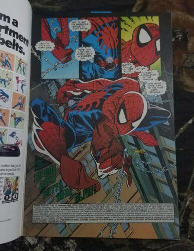 HIGH GRADE NM Spider-Man Vol 1 #17 Marvel Comic 1991 Thanos Cover Infinity Death