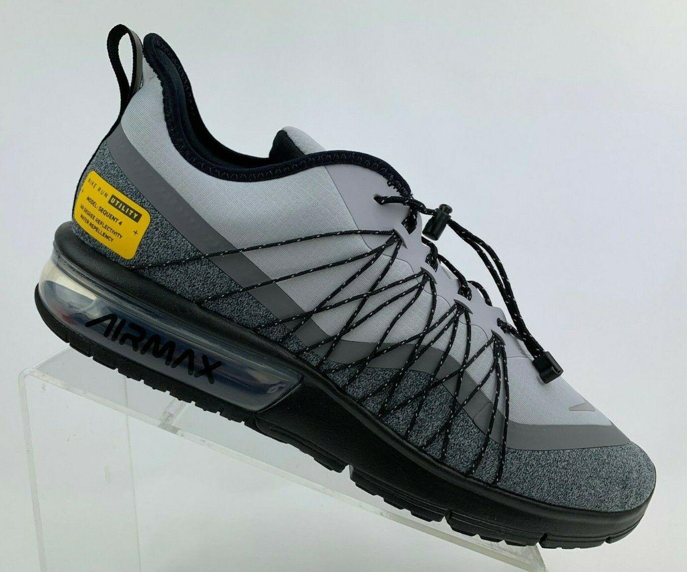 Nike Air Max Sequent 4 Shield Running Shoes Khaki Maroon