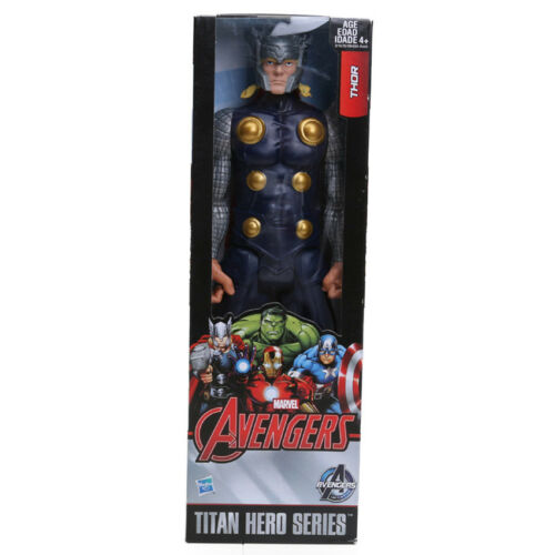30CM Avenger Thor Captain America Spider Man Iron Man PVC Action Figure Toys