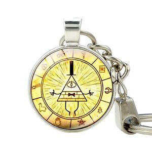 Gravity Falls Mysteries Bill Keychain Jewelry Zinc Alloy ...
