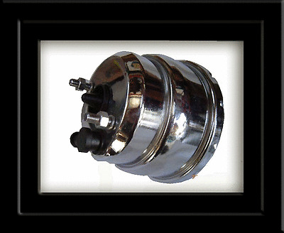 Chrome Booster 7 inch Universal Type Hot Rod