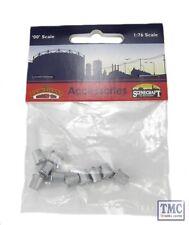 44-522 Bachmann Scenecraft OO/HO Gauge Old Style Domestic Dustbins (x10)