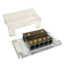 PB2154 0 Gauge Power or Earth Distribution Block - 2 x 0 AWG In to 5 x 4 AWG Out