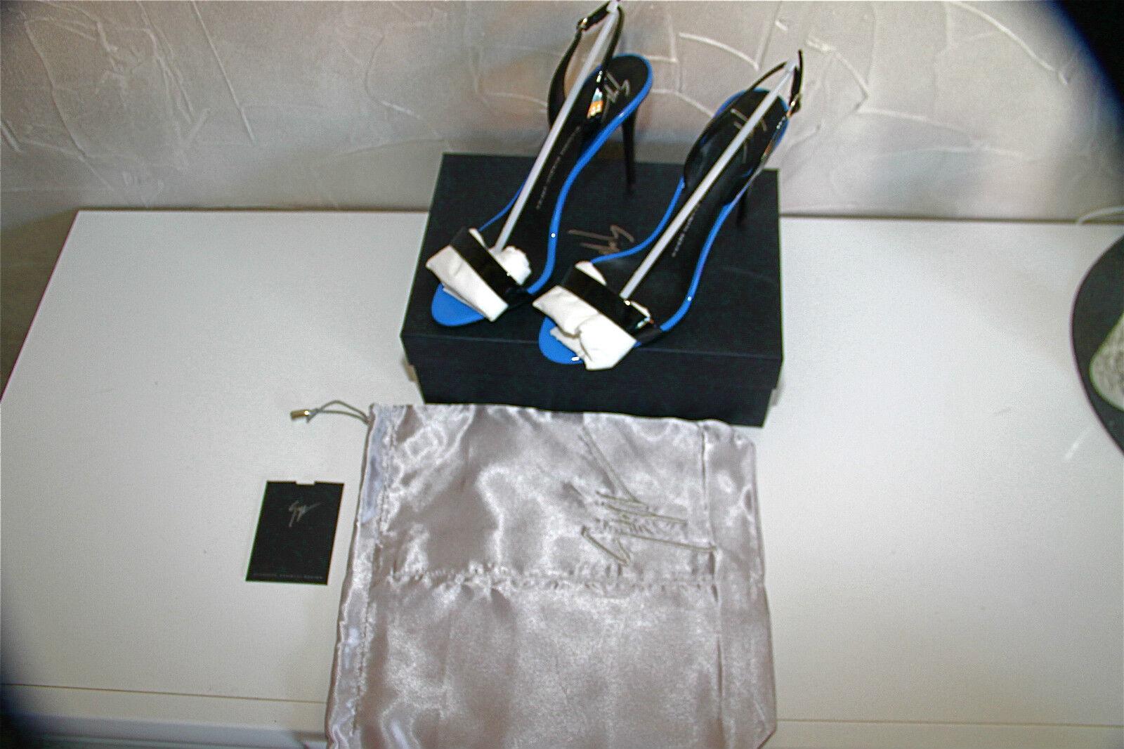 GIUSEPPE ZANOTTI DESIGN Black Sandals patent Leather WoFemme E40089  VALUE 650  E40089 44768d