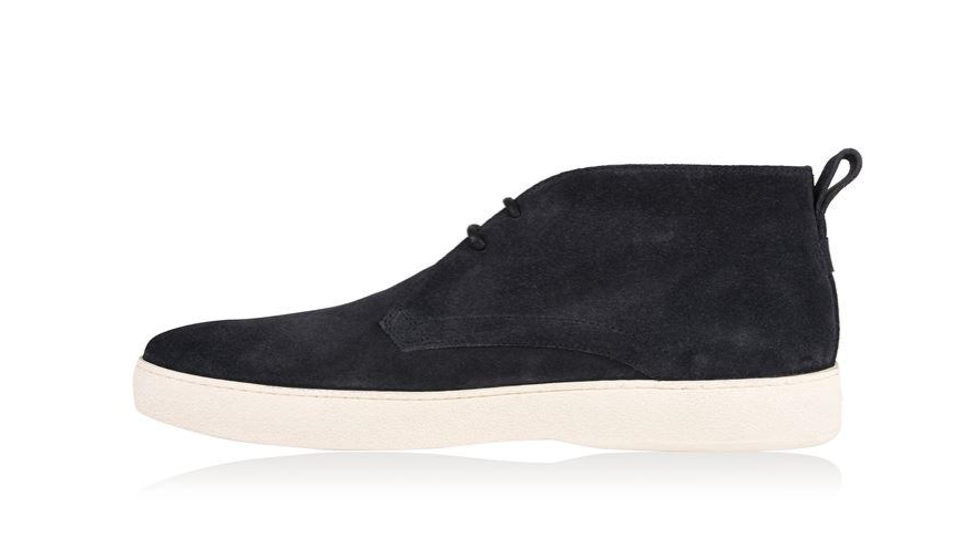 SUEDE Herren TOD'S LOW NAVY SUEDE  CHUKKA LACE-UP BOOTLIKE Schuhe UK 10/EU44 - f98e5d