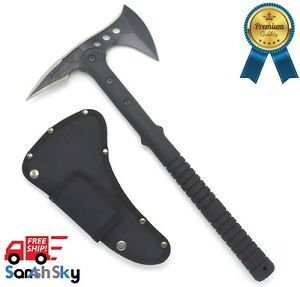 Image is loading New-Tactical-Tomahawk-Axe-Army-Outdoor-Hunting-Camping-