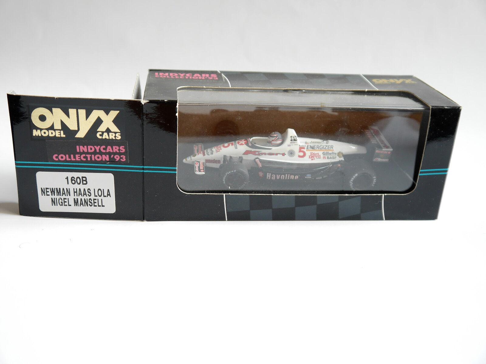 Indy 500 1993 - Newman Haas Lola   Nigel Nigel Nigel Mansell RED FIVE 5, Onyx in 1 43 boxed  0479cb