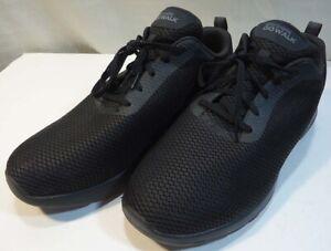 later goedkoper verkoop usa online Details about Men's SKECHERS~ GO WALK~MAX-EFFORT~54601EWW~~Black extra wide  Shoes~12.5
