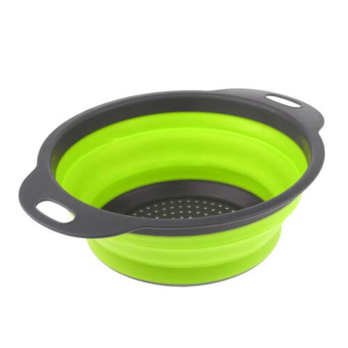 Panier pliable pliable de passoire de passoire de cuisine extérieure / à