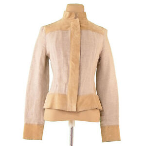Dolce-amp-Gabbana-Coats-Jackets-Beige-Woman-Authentic-Used-L1588