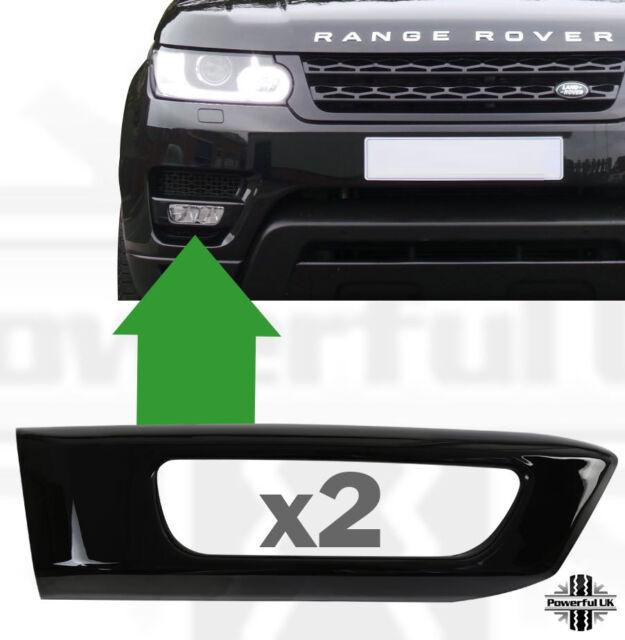 Chrome Front Fog Light Lamp Cover Trim For Range Rover Sport RR Sport 2014-17