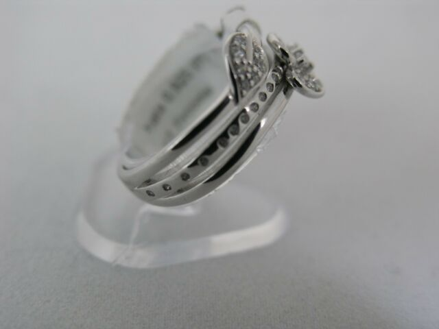 CSR112Z Ring simple with birds and symbol of Cacharel Sterling Silver 0,925