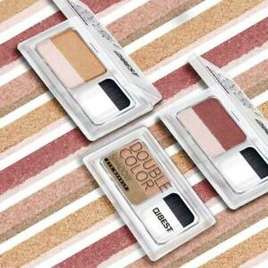 2-5g-Augen-Make-up-doppelte-Farben-Lidschatten-Shimmer-Lidschatten-Palette-K5L9