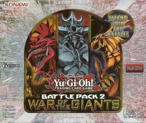 Yu-gi-oh Battle Pack 2 War Of The Giants BP02-EN113 - 143 Card Selection Mint