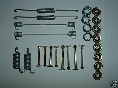 Posteriore Freno Scarpa Kit di montaggio MK2 MK3 FORD CAPRI 1.3 1.6 2.0 S LASER CALYPSO SPORT
