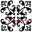 ISLAMIC PATTERNS MYLAR STENCIL CRAFT HOME DECOR PAINTING WALL ART 125//190 MICRON