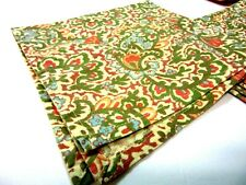 April Cornell Paisley Floral 100/% Cotton Napkins Set of 4 NEW NWT