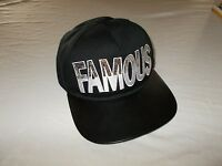 Custom Charlotte Russe Black With Bling Letters Famous Baseball Cap Hip Hop Cool