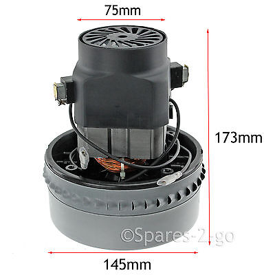 """Double 2 Stage Bypass Motor for VAX 20007 - 25022 5.7"""" Wet & Dry Vacuum 1200W"""