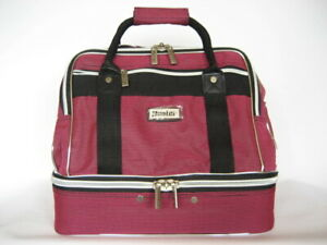Traditional-Style-Bubblegum-Pink-4-Bowls-Carry-Bag-GREAT-BAG-AT-A-GREAT-PRICE