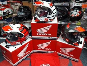 ORIGINAL-HONDA-ARAI-TOUR-X4-Adventure-Moto-choc-Casque-teamhrc-HRC