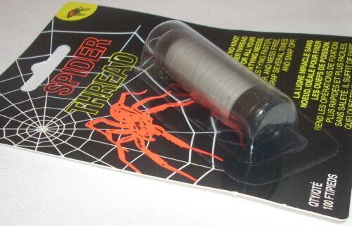 Redwing 100/' Fly SPAWN tying clair Spider Thread aucun Nœud Wonder Pêche Thread