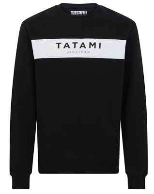 Tatami Brand Sweat Shirt Grey Top BJJ Brazilian Jiu Jitsu Casual MMA Grappling
