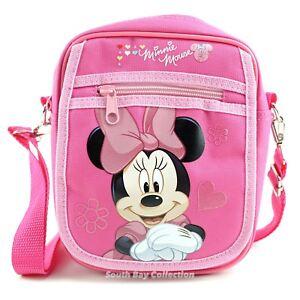9eb83bfba0 Image is loading Disney-Minnie-Mouse-Kids-Side-Shoulder-Bag-Purse-