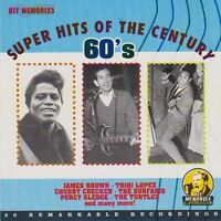 Superhits of the Century-60's (20 tracks) Chubby Checker, The Ventures, T.. [CD]