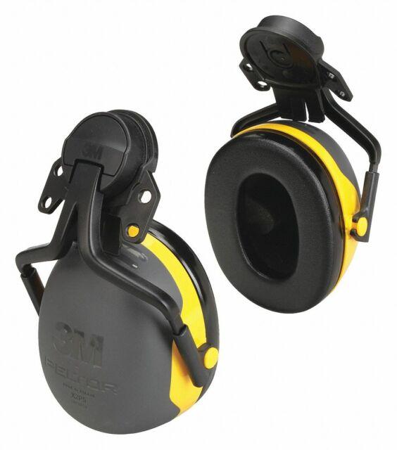 3M Ear Muffs,Hard Hat Mounted,NRR 24dB X2P5E