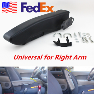 Details about US Universal Folding Car Truck Armrest Arm Support Custom  Clamp Drill Fit -Right